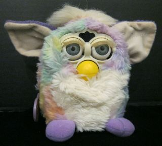 Tie Dye Furby 1999 Tiger Electronics Model 70 - 800 Non With Tags Attached