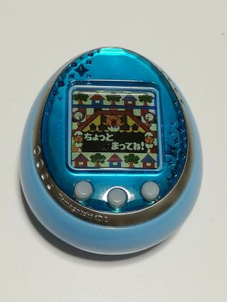 Tamagotchi Idl 2011 Japanese Version Virtual Pet Bandi Blue