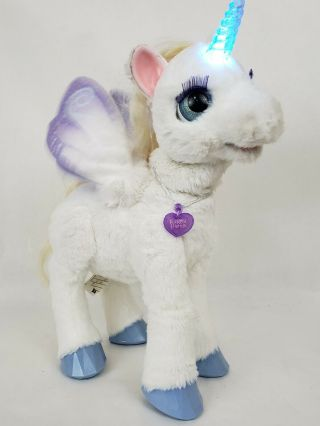 Furreal Unicorn Starlily Large Lights Up Magical Noises