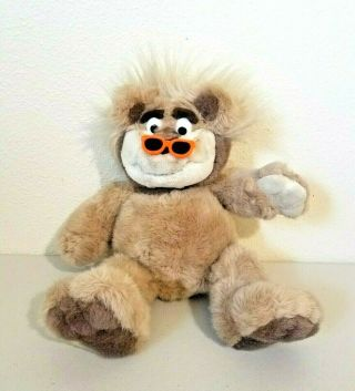 1995 Tyco Real Talking Bubba Wisecracking Plush Bear 16 ""