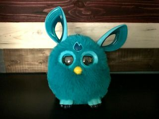 Cute Blue Hasbro 2016 Furby Bluetooth Connect Interactive Talking Toy