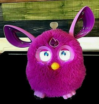 Pink/purple Hasbro 2016 Furby Bluetooth Connect Interactive Talking Toy
