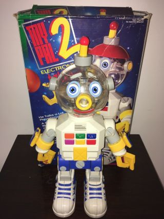 Retro My Pal 2 Electronic Talking Robot