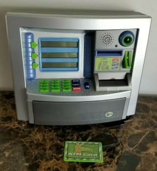 Summit Youniverse Electronic Atm Bank/savings Learning Machine Pretend Kids Toy
