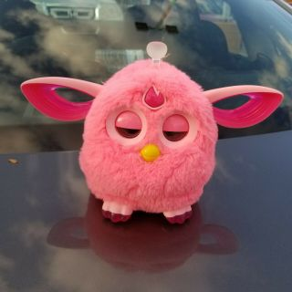 2016 Hasbro Hot Pink Furby Connect Interactive Toy Bluetooth Phone
