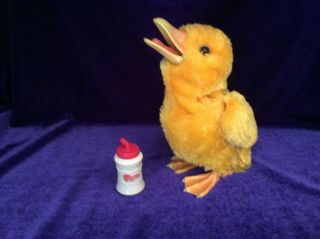 Furreal Friends Yellow Duckling Chick Interactive Toy By Hasbro 2009