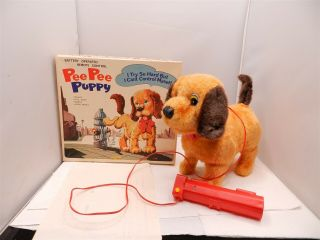Battery Operated Pee Pee Puppy Dog 5 Action W/box