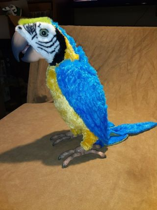 Fur Real Friends Squawkers Mccaw Talking Interactive Parrot Bird Only