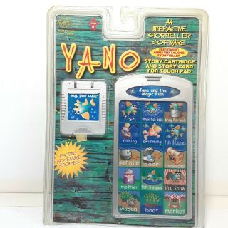 Yano Toy Cartridge Interactive Story Card Jana And The Magic Fish
