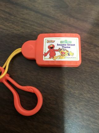 Sesame Street Theme Song 2002 Tiger Kid Clips Music Player Cartridge