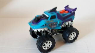 Razerjaw.  Toy State Road Rippers.  Toy Monster Truck.  Lights.  Sounds.  Moves
