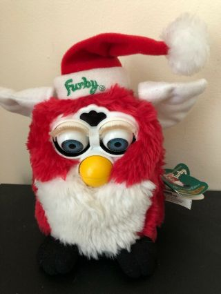 Furby Vintage Special Limited Edition Christmas Edition 1999