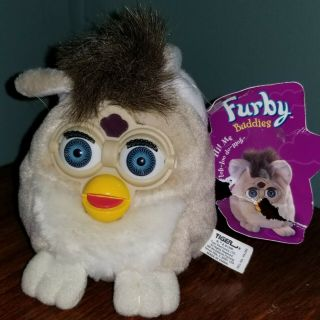 Like Please 1999 Furby Buddies Plush Bean Bag Toy Tiger Electronics W/tag