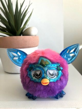 Furby Boom Crystal Series Furbling Pink And Purple