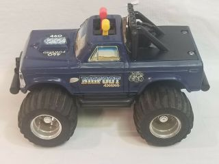 Vintage 1983 Playskool Bigfoot Monster Jam 4x4x4 Not No Key