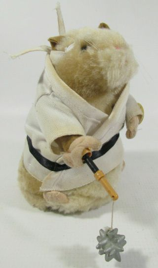 "Gemmy - Dancing Hamster - Plays: "" Kung Fu Fighting "" - White Robe"