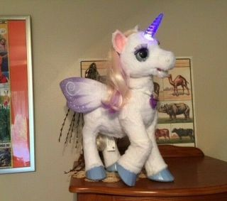 Fur Real Friends My Magical Starlily Unicorn Lights Up Moving Head Eyes & Sounds