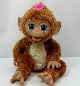 Furreal Friends Pet Cuddles My Giggly Monkey 2012 Hasbro