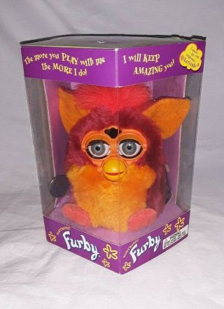 1999 Tiger Electronic Furby 70 - 800 With Box.