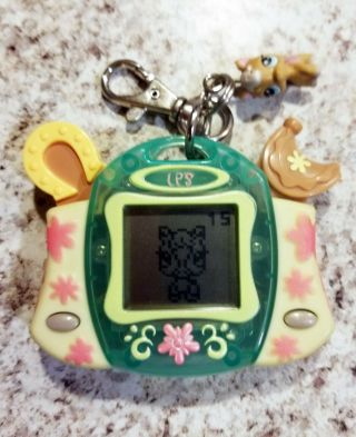 Hasbro 2007 Littlest Pet Shop Horse Tamagotchi Virtual Pet - -