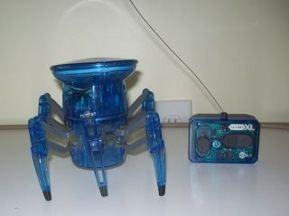 Hexbug Spider Xl Blue Translucent Hex Bug