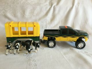 Toy State Road Rippers Dodge Ram 1500 Truck W Trailer,  Lights & Sound Work