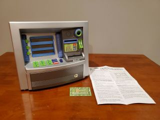 Zillionz Atm Savings Goal Toy Bank With Card Really Cool