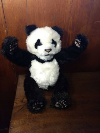 Furreal Friends Tiger Electronics Interactive Sounds Panda 2004 Hasbro