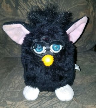 1998 Furby By Tiger Electronics,  Not,  Black,  5 ""