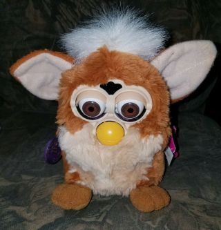 """1999 Furby By Tiger Electronics,  Not Properly,  Brown & White,  5 """""""