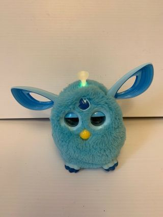 Hasbro Bluetooth Furby Connect 2016 Teal Blue Great