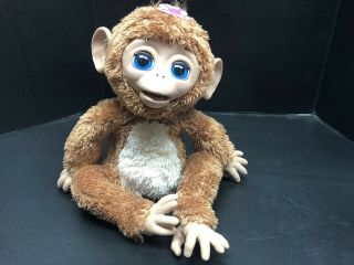 Furreal Friends Cuddles My Giggly Monkey Interactive Plush