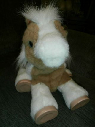 "2011 Hasbro Fur Real Friends Magic Show Pony 17 "" Butterscotch"