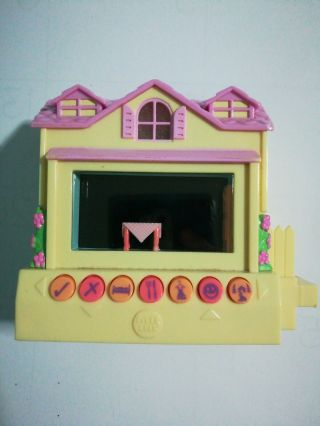 Mattel Pixel Chix Yellow House Purple Roof Interactive Electronic Toy