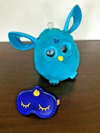 Hasbro Turquoise Aqua Furby Connect Interactive Toy With Mask