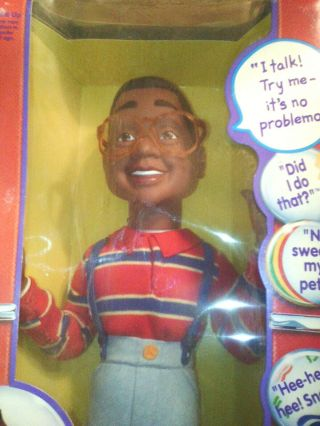 Vintage Stephen Urkel Tv Character Doll,  In The Box,  Colectable,  Childs Toy,  Tal