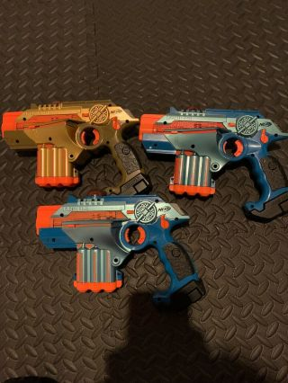 Nerf Lazer Tag 3 Pack