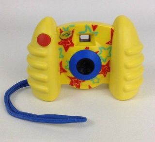 Crayola Kids Digital Camera Yellow Picture Photo Video Usb Compatible 2012