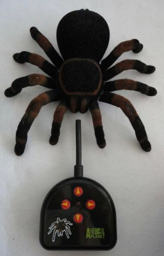 Animal Planet Tarantula Rc Giant Huge Spider Remote Radio Control Halloween Prop