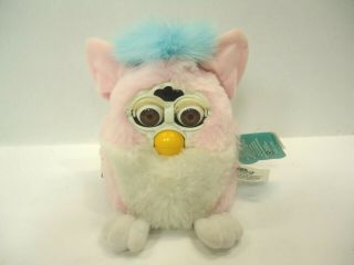 1999 Tiger Electronics Furby Babies Pink W/blue Hair 70 - 940 Not