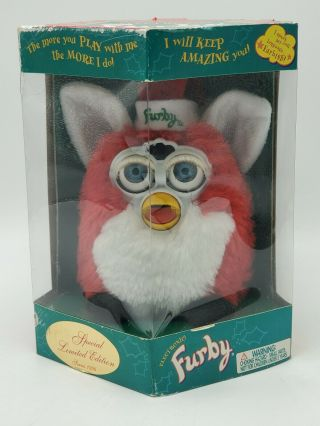 Vintage 1999 Furby Special Limited Edition Christmas