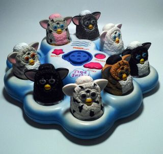 Vintage Find Furby Electronic Game Incomplete Unboxed