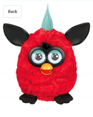 Furby Boom Interactive Doll Hasbro 2012 Electronic Eyes A3150 Red And Black