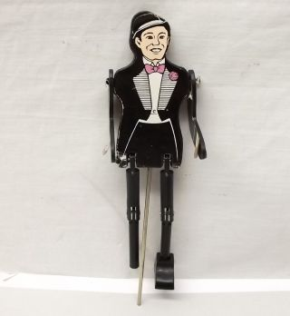 Vtg George Borgfeldt Dancing Jig Puppet Toy Tuxedo Groom Cocktail Party Ny Corp