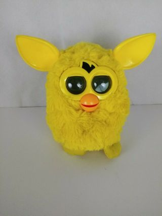 Furby Boom Yellow Interactive Pet Toy