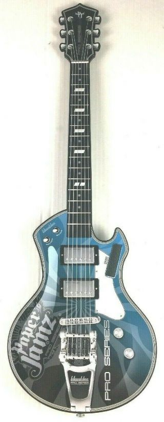 Paper Jamz Pro Series Electronic Blue Guitar Great