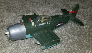 Rare Vintage Daisy Matic P - 47 Thunderbolt Wwii Toy Jet Plane -