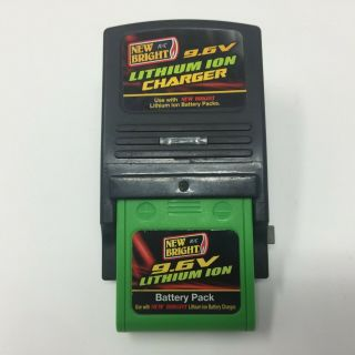 9.  6v Bright Rechargeable Battery Pack With Charger Rc Lithium Ion