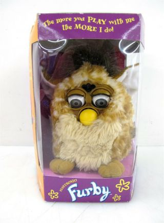 1998 Furby Model 70 - 800 In Open Box Tiger Electronics