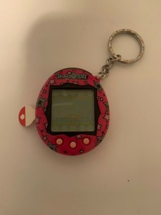 Bandai Tamagotchi Pink With Stars Never Activated
